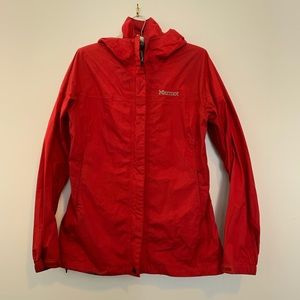 Stay warm and dry in this raincoat!